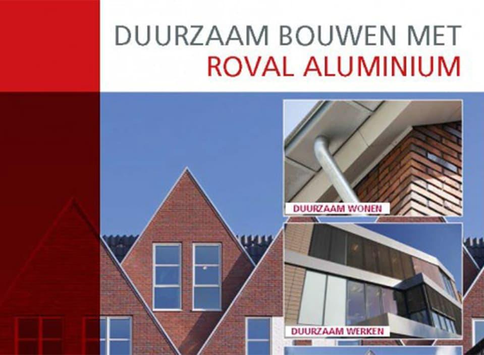 Brochure Duurzaam Bouwen met aluminium