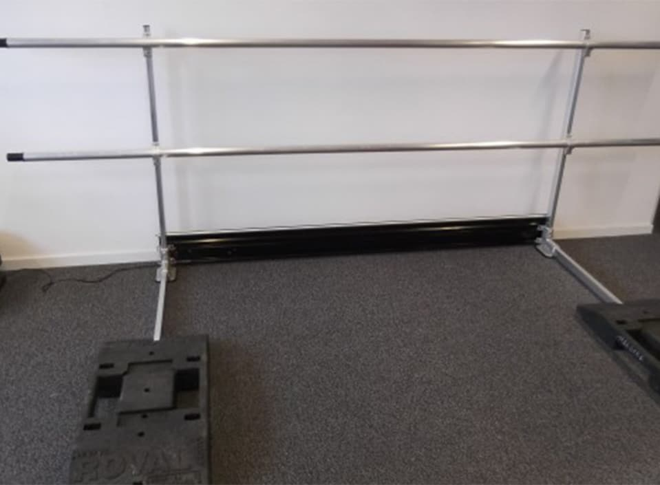 Nieuw dakrandbeveiliging van Roval Aluminium