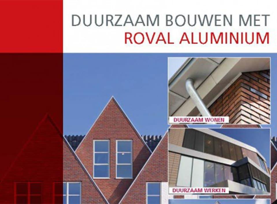 Bijzondere brochure Duurzaam Bouwen met aluminium