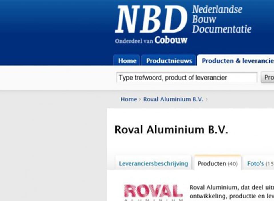 Aluminium producten en toepassingen op NBD-online