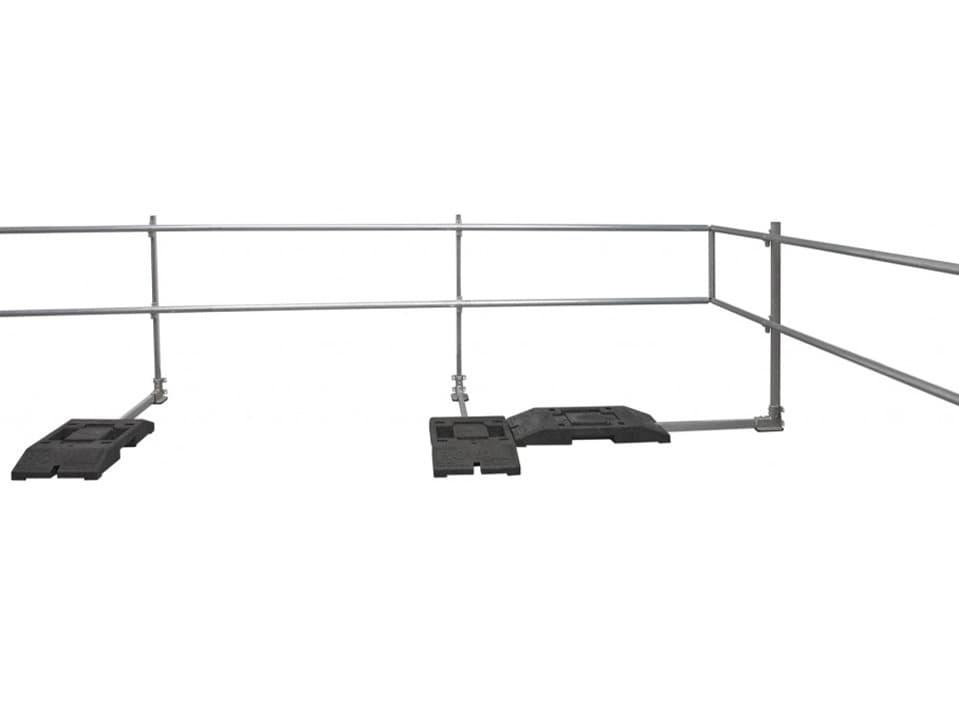 Roval-RoofGuard® aluminium dakrandbeveiliging