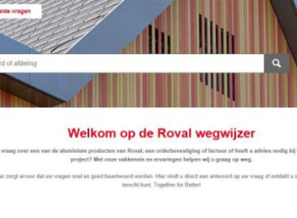 Wegwijs met de Roval Wegwijzer!