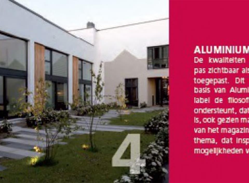 Aluminium In Praktijk richt zich op details