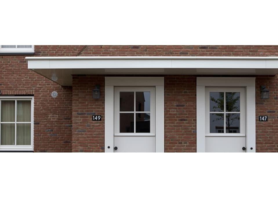 Architectonische dakranden voor elk ontwerp