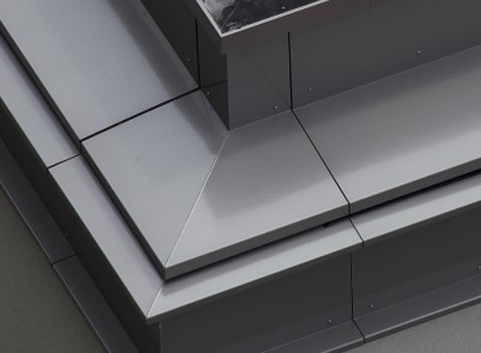 Meer mogelijk met aluminium dakrandafwerking