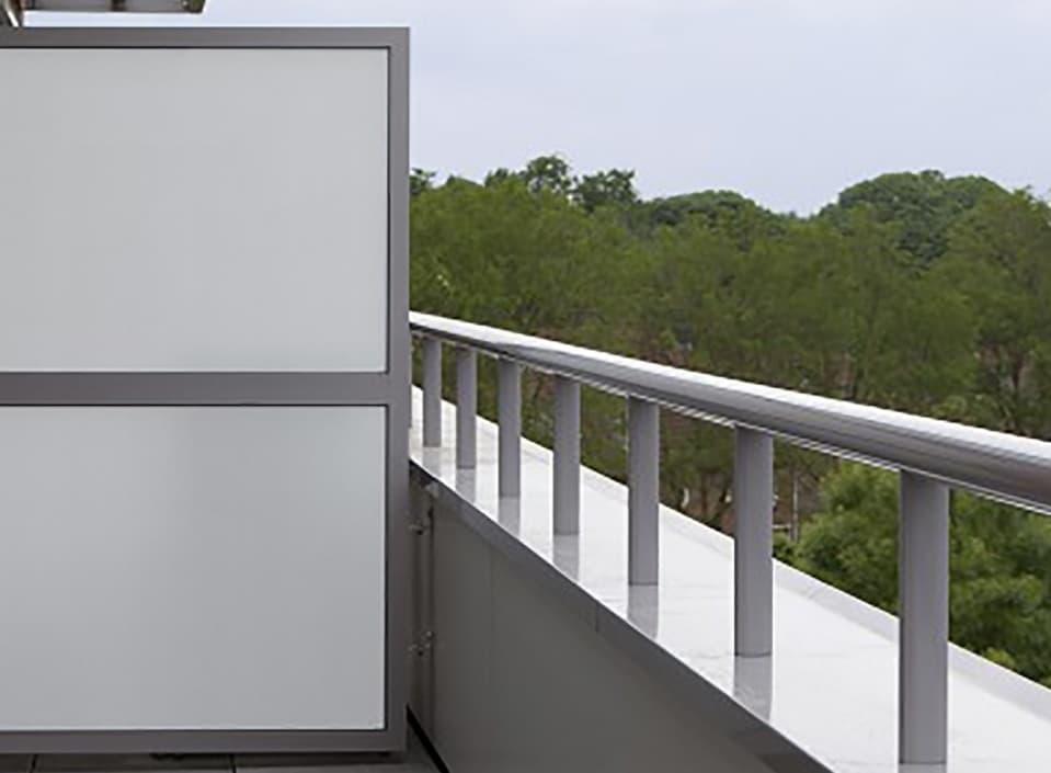 Variatie in aluminium privacyschermen