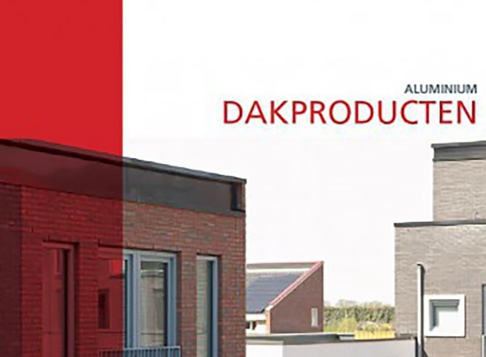 Nieuw leaflet aluminium dakproducten